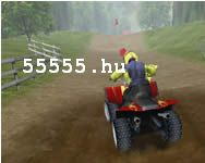 4 wheel fury quad motoros j�t�k