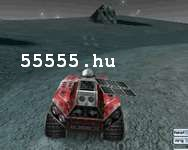Autó Moon rush játékok