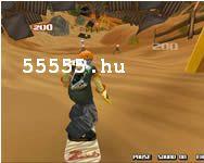 Sandboard shockwave sport játék
