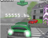 3D  játékok Sunset racer 2