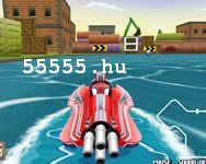 Water run csónakverseny  játék